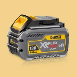 Toptopdeal DeWalt DCB546 18V/54V 6.0/2.0Ah Li-Ion FlexVolt XR Slide Battery