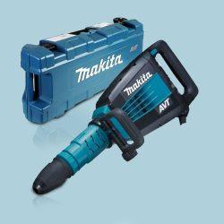 Toptopdeal Makita HM1214C 240V AVT SDS Max In Line Demolition Hammer