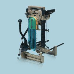 toptopdeal Makita 7104L Powerful 12Amp Motor Portable Chain Mortiser 240V